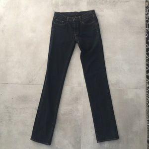 J Brand Black Straight Leg Jeans